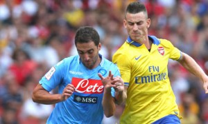 ARSENAL V NAPOLI EMIRATES CUP 2013